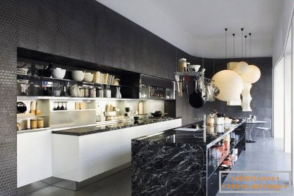 nero-wall-to-cucina