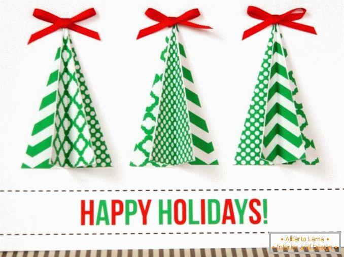 Cartoline Di Natale Con Foto Proprie.15 Cartoline Di Natale Fatte In Casa