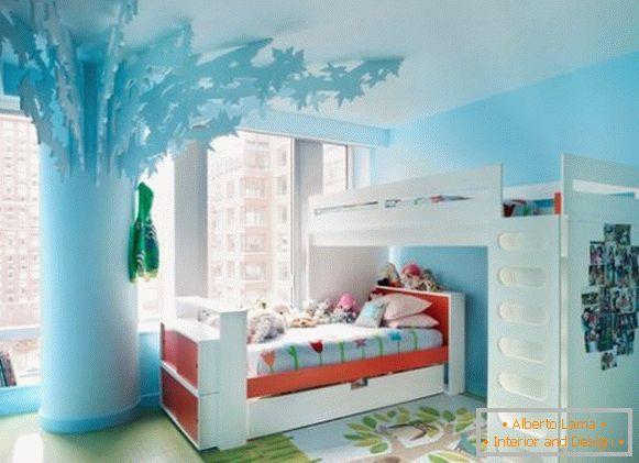 Modelli di letti a castello per adulti e bambini e