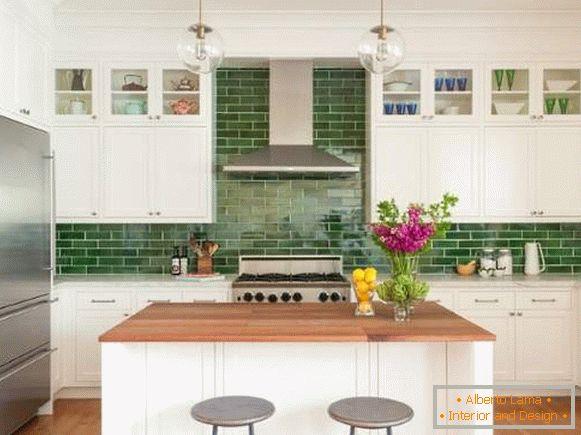 Cucina bianca all interno foto con idee di bel design