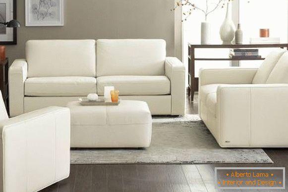 Soggiorno Mobili Scuri : Mobili da soggiorno bianchi foto in interior design