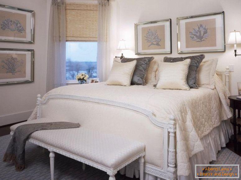 Camera da letto beige - foto delle migliori idee per