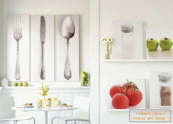 Decorazioni murali: 30 idee per la cucina