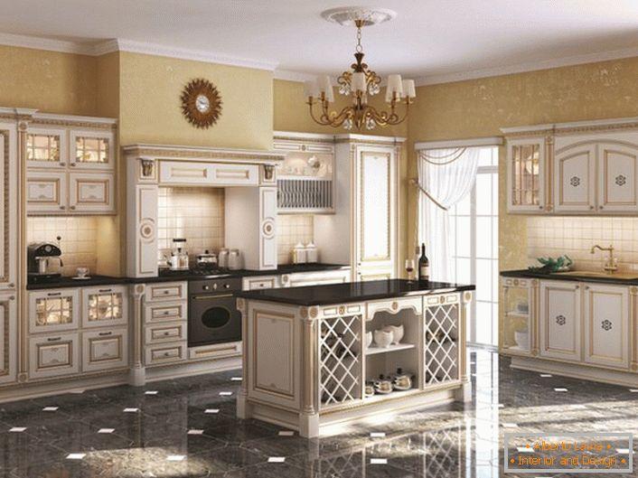Interior design della cucina in stile inglese 35 idee di - Cucina in inglese ...
