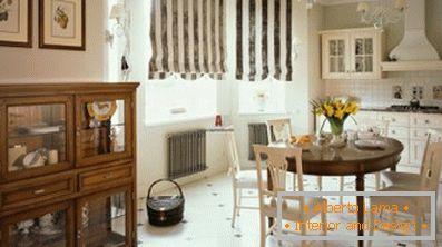 Interior design della cucina in stile inglese (35 idee di