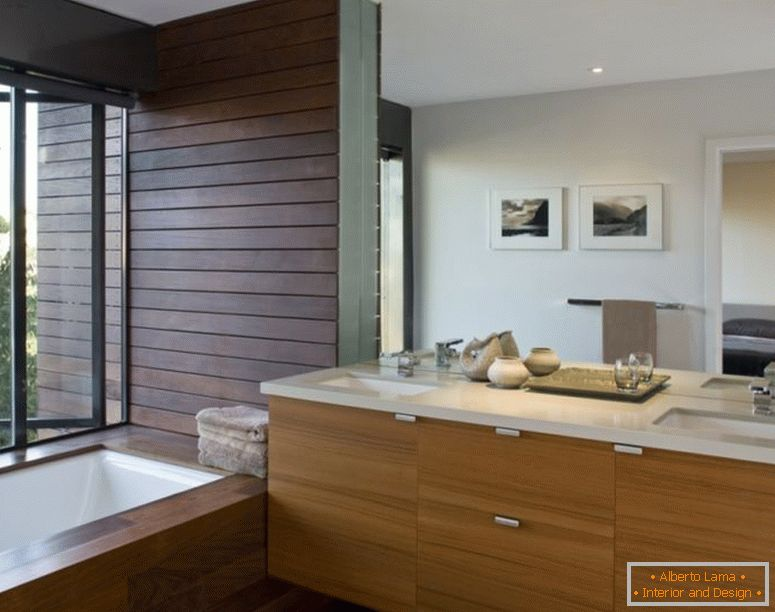 decoration-ideas-interior-adorable-ideas-in-decorating-bagno-interior-design-with-cherry-wood-bath-vanity-and-under-mount-sink-with-chrome-faucet-also-rectangular-soaking-bathtub-in-parquet-floori
