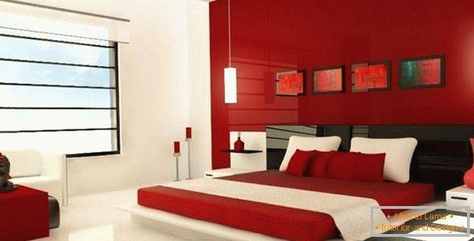 Stanze Da Letto Rosse : Design di una camera da letto rossa: eleganti opzioni di