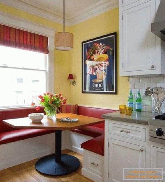 Cucina Con Divano.Design Della Cucina Con Un Divano 40 Foto Con Consigli Sul