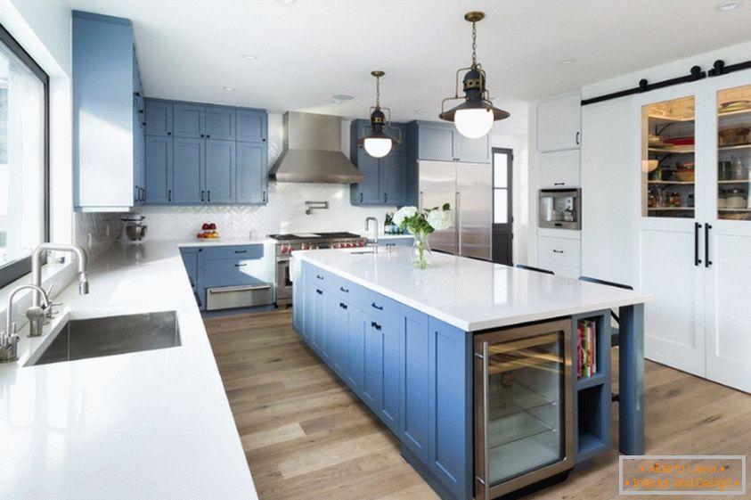 Cucina di design in stile provenzale: il fascino francese