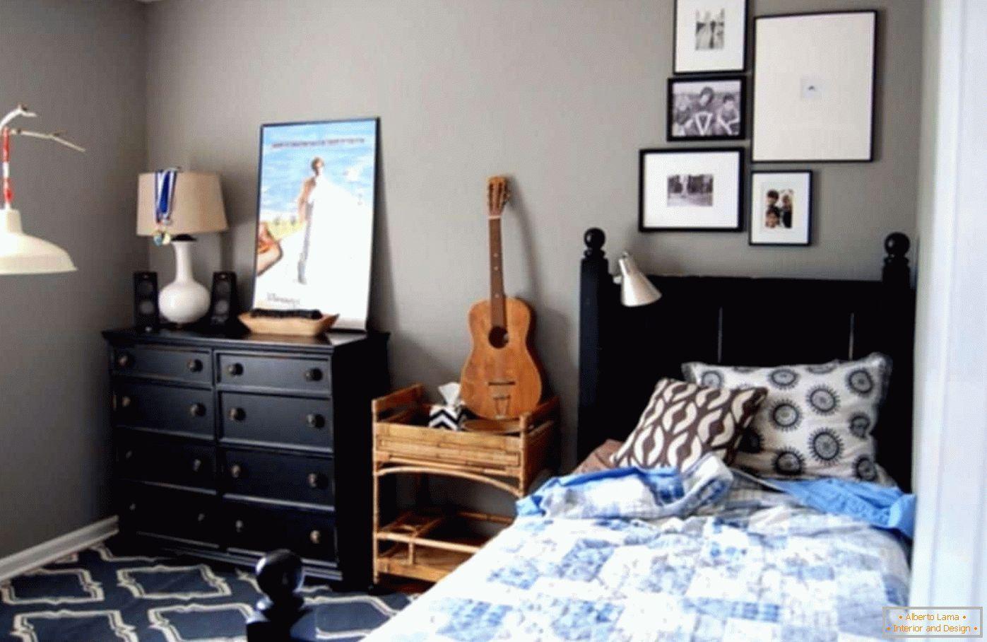 Design della camera da letto per ragazzi - più di 20 foto
