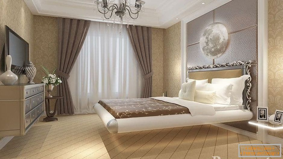 Design di una camera da letto in stile classico - idee