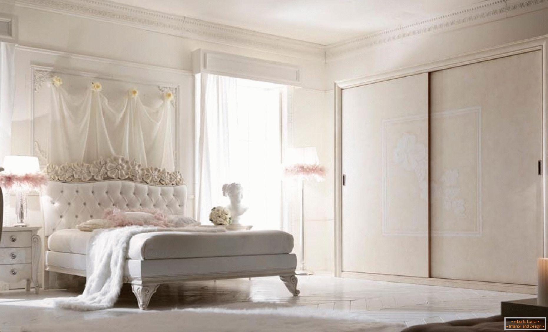 Progettazione di una camera da letto in stile provenzale
