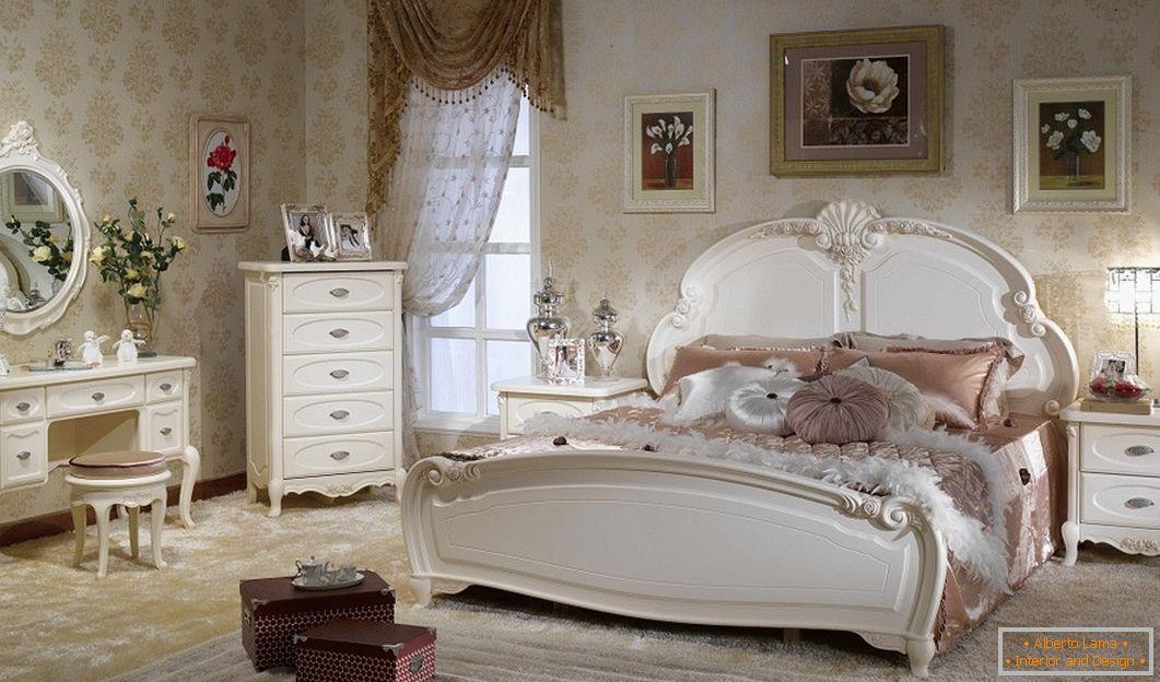 Camere Da Letto Stile Francese : Progettazione di una camera da letto in stile provenzale