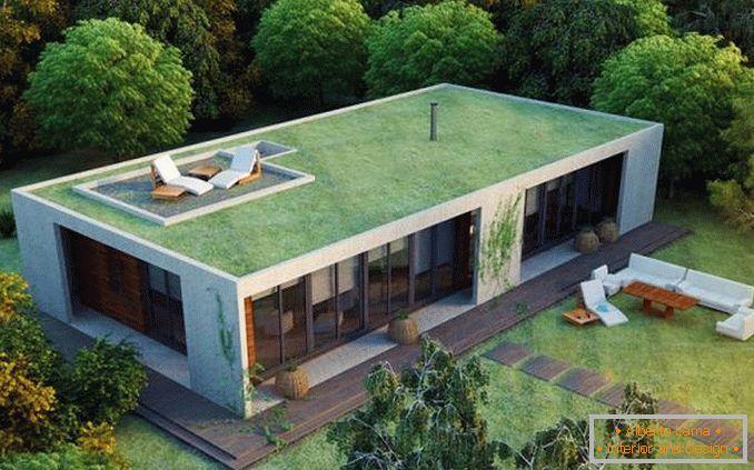 Case con un tetto piatto tendenze moderne e modi di for Casa moderna un piano