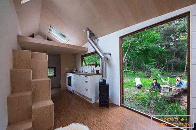 Interni Di Una Casa Di Campagna : Design funzionale di una casa di campagna allinterno: foto