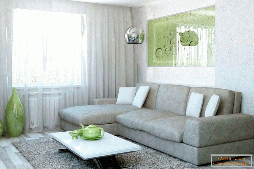 Camera Da Letto Con Divano : Interno di una camera da letto con un divano al posto del