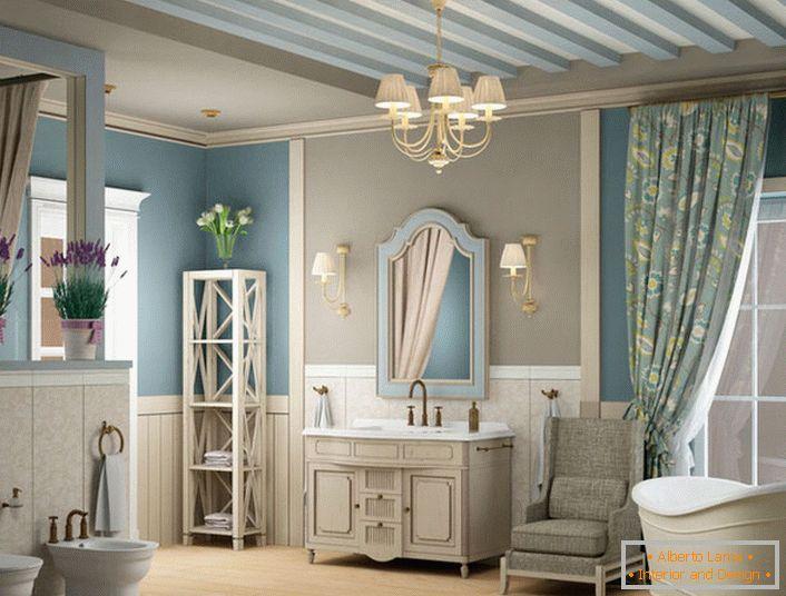 Bagni Per Case Di Campagna : Interno del bagno in stile mediterraneo 26 idee di design