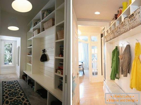 Come progettare un corridoio stretto - 28 foto con idee