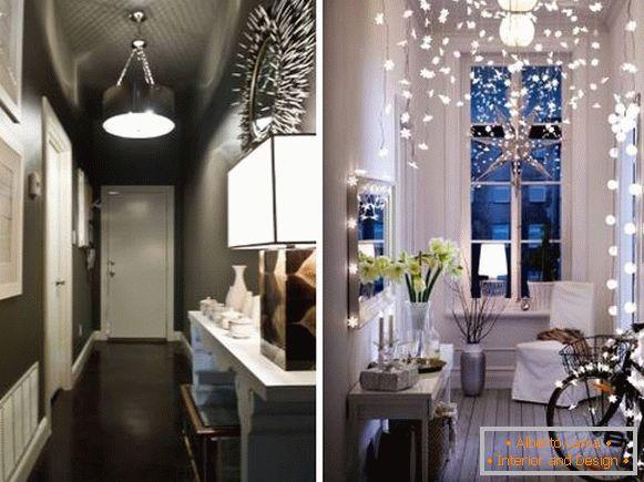 Illuminazione Di Un Corridoio : Come progettare un corridoio stretto foto con idee
