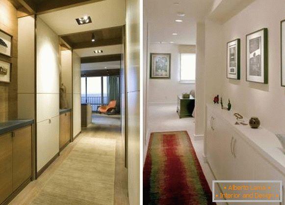 Corridoio Lungo Stretto : Come progettare un corridoio stretto 28 foto con idee