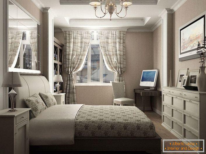 Come progettare l\'interno della camera da letto in stile