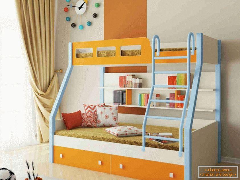 Come fare un letto a castello per bambini con le proprie