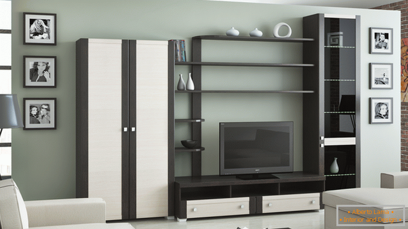 Come scegliere mobili modulari nel soggiorno? offerte da