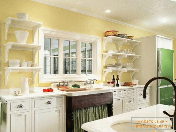 Di che colore scegliere per i muri in cucina?
