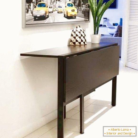 Quale tavolo da cucina pieghevole scegliere - 67 idee