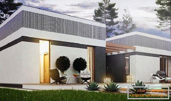 Case Moderne Ad Un Piano : Belle case a un piano o quello che è la casa perfetta