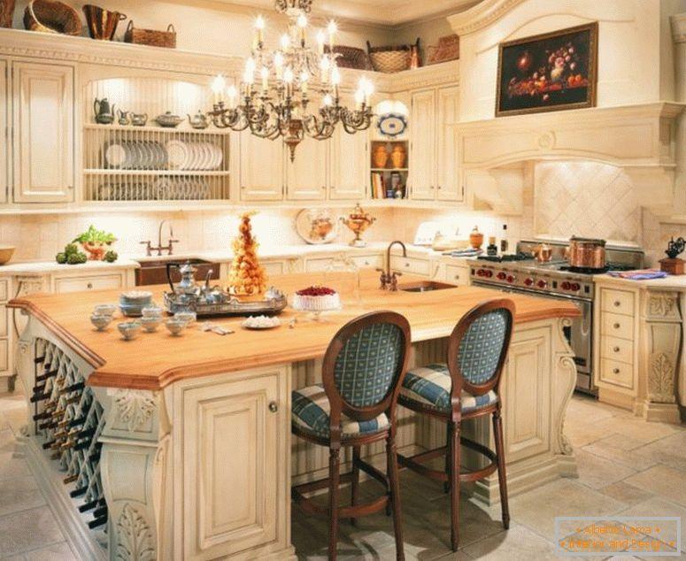 Cucina in stile provenzale - 120 foto di insolite idee di