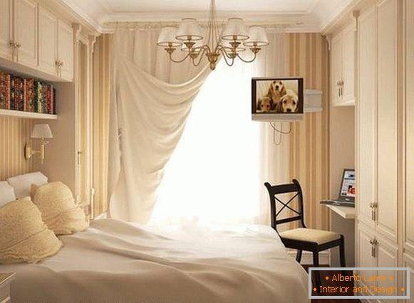 Lampadario in camera da letto: una varietà di modelli in 30