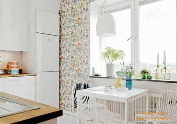 Carta da parati lavabile per la cucina: praticità ed