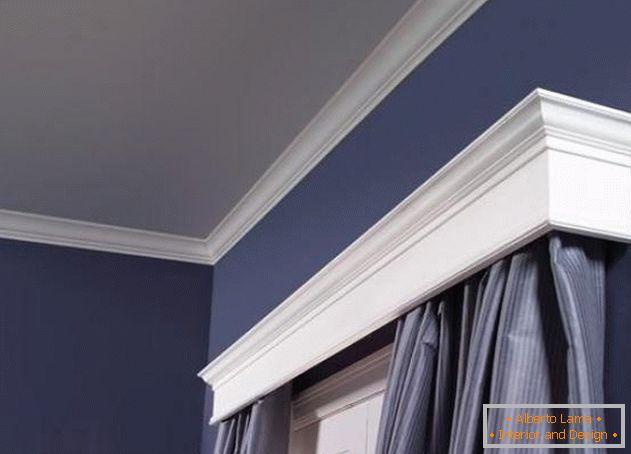 Binari per tende da parete foto di modelli moderni