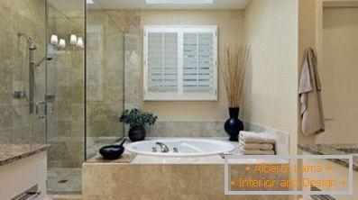 Progettiamo un design moderno di un piccolo bagno 60 idee