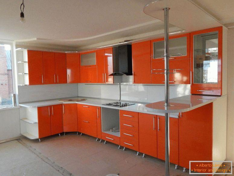 Cucina arancione recensione di foto di tutte le