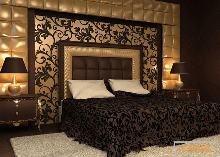 Letto Con Schienale Morbido : Caratteristiche della camera da letto in stile barocco