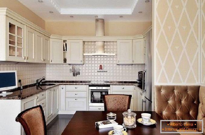Decorazione della parete in cucina: 30 foto di soluzioni di
