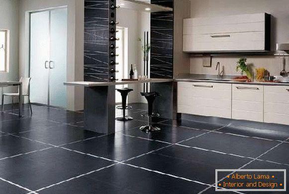 Piastrelle per le cucine sul pavimento consigli pratici