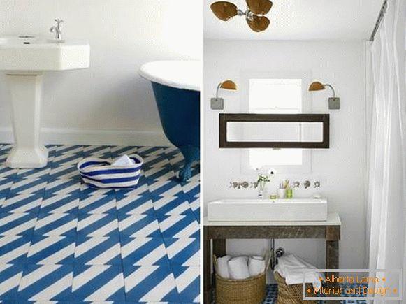 Piastrelle per bagno 33 foto del design del bagno