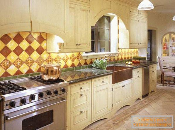 Stili popolari di cucina (con foto)