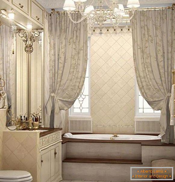Attraente lampadario in bagno 40 foto nell 39 interno - Lampadari per il bagno ...