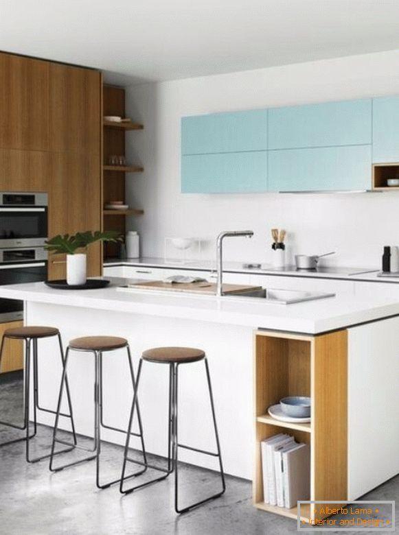 Riparazione della cucina con le proprie mani - illuminazione