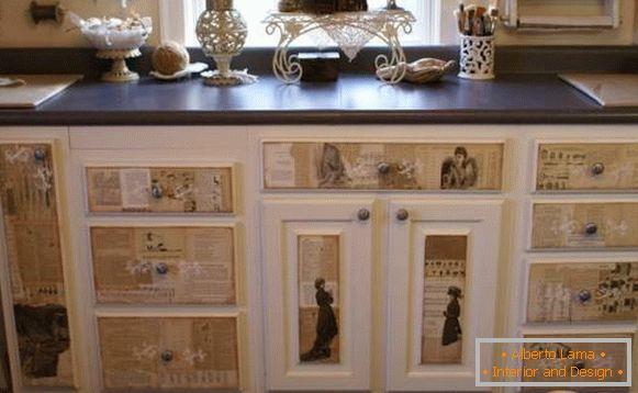 Restauro dei mobili sovietici con le proprie mani
