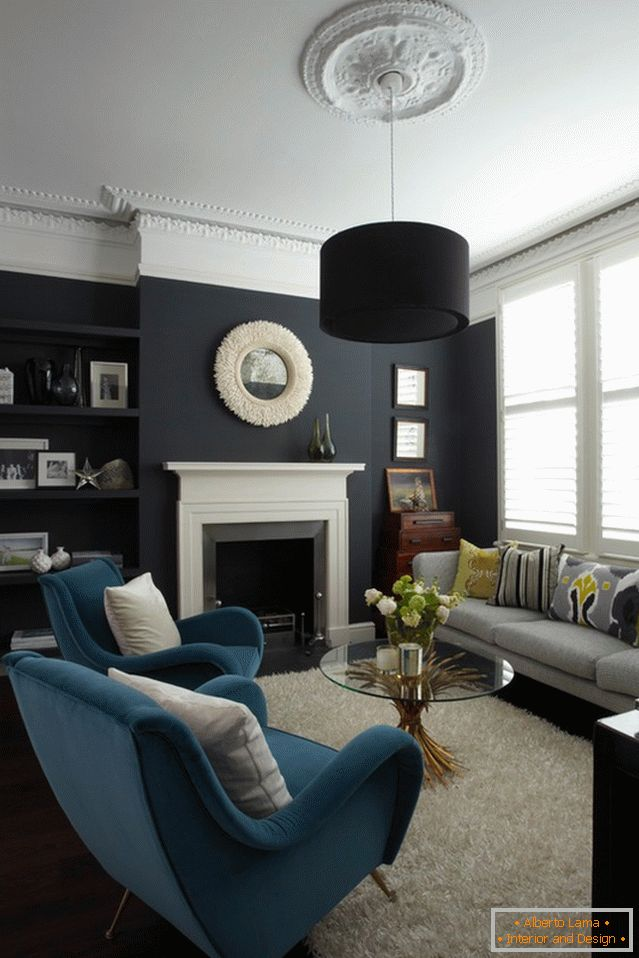 Per te, un colorista: scegli i colori per il soggiorno