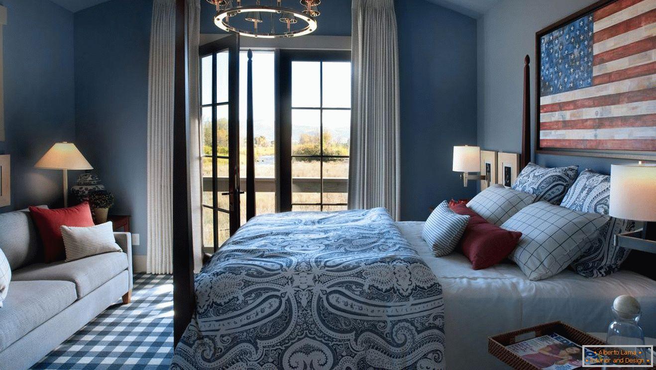 Camera Da Letto Blu Cobalto : Colore blu allinterno della camera da letto