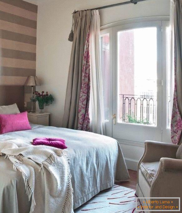 Tende moderne in camera da letto - foto 2016 e novità di