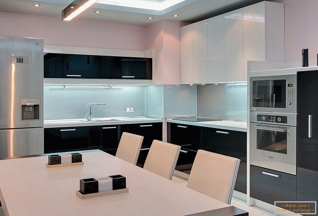 Design moderno della cucina mq m