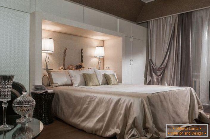 Camere Da Letto Art Deco : Camera da letto in un lussuoso stile art deco idee