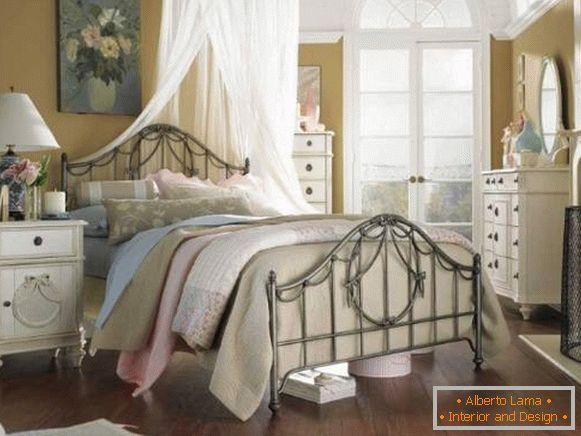 Camera da letto in stile provenzale - 40 foto di interni